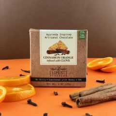 Cinnamon Orange with Clove Infusion  Artisan Chocolate - Case of 10