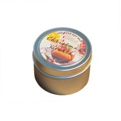 Holiday Candles, 4 oz Tins - 2 Pack