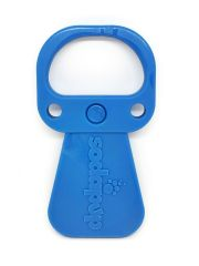 SodaPup Pop Top Ultra Durable Nylon Dog Chew Toy for Aggressive Chewers, Guaranteed Tough, Non-Toxic, Reduces Boredom and Problem Chewing, Made in USA, Large, Blue