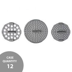 reCAP® Mason Jars Shaker Inserts  | Silver | Case of 12