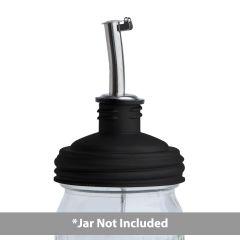 A reCAP pour tap on a mason jar