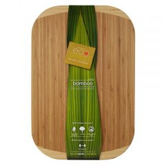 12 x 18 inch Formaldehyde-free Bamboo Cutting Board - Case of 6