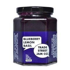 Blueberry Lemon Basil Vegan Jam