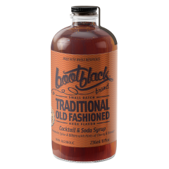 Bootblack Brand- Cocktail Syrup - 8 oz Bottles - 12/case
