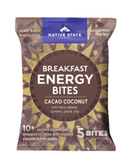 Organic Superfood Snack Bites- Cacao Coconut, 8ct