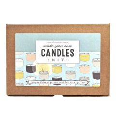 Candle Kit, Make Your Own Candles - Case of 6 Mix-and-Match