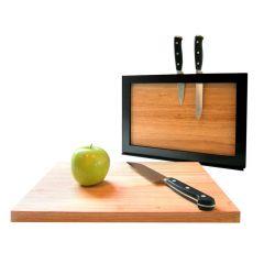 Knife Rack and Cutting Board