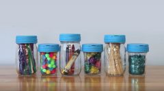 Organize Craft Supplies in Mason Jars with reCAP®