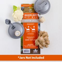 reCAP® Mason Jars Fermentation Starter Kits - Case of 6