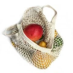 French Market Produce Tote, Cotton String Bag - Case of 6