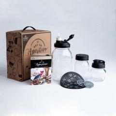reCAP Mason Jars Art of Aperitivo: Italian Happy Hour Gift Set