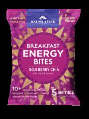 Organic Superfood Snack Bites, Goji Berry Chia, 8ct