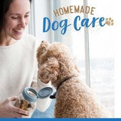 Homemade Dog Care ebook download with dog treat recipes and cleaning solution