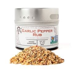 Garlic Pepper Rub - Case of 8