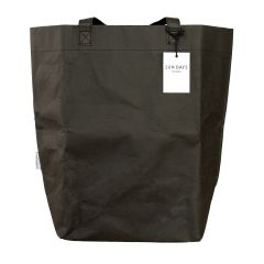 Market Tote Bag made from Washable Paper - Black