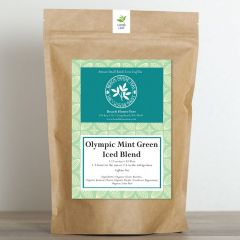 2 oz Olympic Mint Green Artisan Loose Leaf Iced Tea Blend (case of 5)