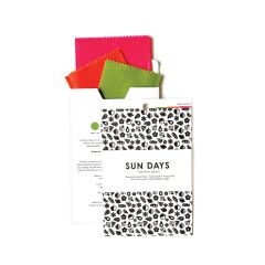 Sun Days Goods Beeswax Wraps 3-pack Variety Case of 24