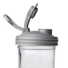 reCAP® Mason Jars   Pour Carry-Loop Lid   UNPACKAGED   Case of 25