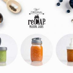reCAP Mason Jars reGift with reCAP ebook download for gift ideas and recipes