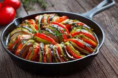 Salt Free Bordeaux-Roasted Ratatouille
