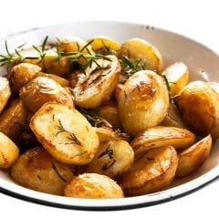 Salted Rosemary Potatoes