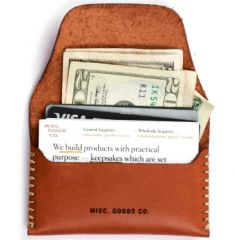 Misc. Goods Co. Leather Wallet - Case of 6