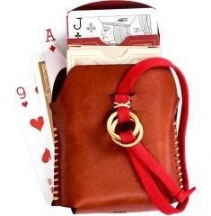 Misc. Goods Co. Leather Double Playing Cards Case - Case of 6