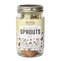 Sprouting Kit, Grow Your Own Sprouts - Case of 6
