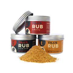 Till's Rub 3 oz. Seasoning Mix- Case of 12