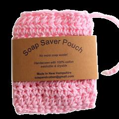 REUSABLE SOAP SAVER  COTTON WASHCLOTH