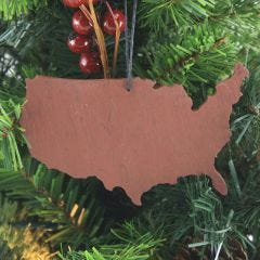 United States Slate Christmas Ornament - Case of 10