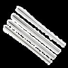 Bulk Cocktail Metal Straws - Case of 50