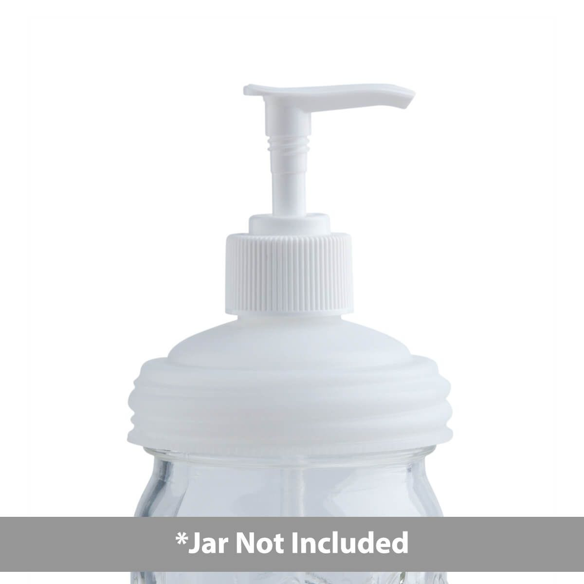 Sample - reCAP® Mason Jars Lid Pump Cap | Regular Mouth | Natural