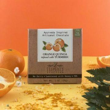 Orange Quinoa with Turmeric Infusion (1 Oz)