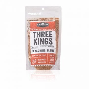 Three Kings Smoky, Spicy, Sweet Seasoning Blend 4 oz