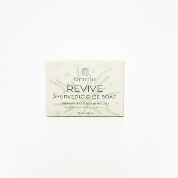 Case of (6) - Revive Ghee Soap : Lemongrass & French Green Clay