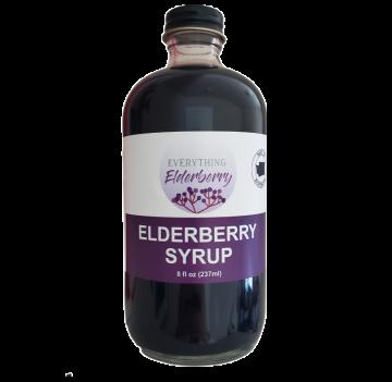 Elderberry Syrup 8 oz- Case of  Six