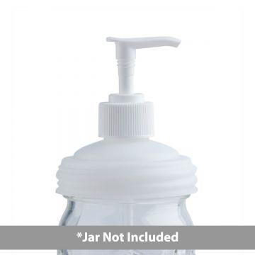 reCAP pump cap on a mason jar