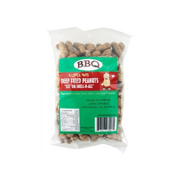 A Little Nuts Deep Fried Peanuts - Box of 12 10 oz. bags. 7 month shelf life. Small Batch. Healthy Snacking!