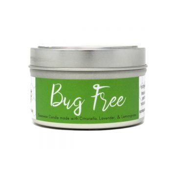 Bug Free Beeswax Candle (Featuring Citronella & Lemongrass)- Case of 6