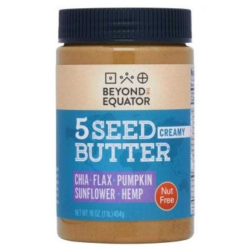 Creamy Nut-free butter, 5 Seed Butter