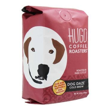 Hugo Coffee Roasters dog daze cold brew coffee concentrate