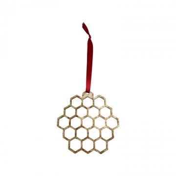 Honey Comb Ornament