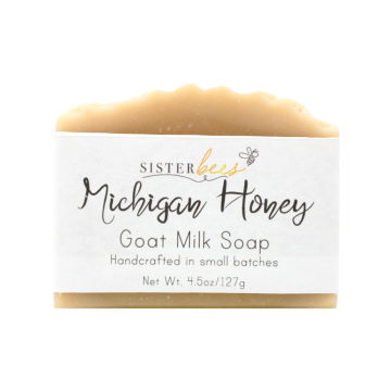 Michigan Honey Handmade Soap- Case of 6