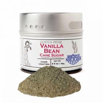 Vanilla Bean Cane Sugar - Case of 8
