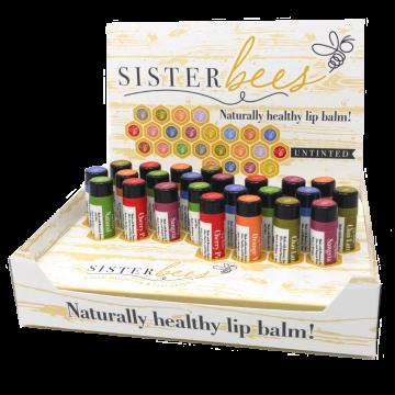 Fall Bumblebee Lip Balm Set- Case of 48