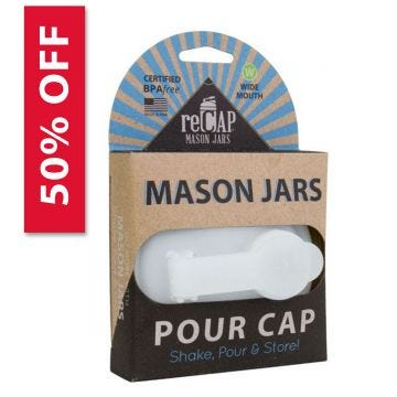 reCAP Pour lid in packaging