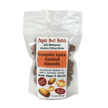 Pumpkin Spice Smoked Almonds All Natural