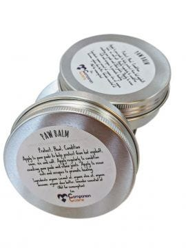 Protect, heal and condition with Organic Paw Balm