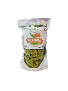 Peas and Carrots Grain Free Dog Treats
